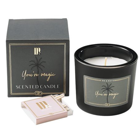 Luxury scented candle You're Magic- ME&MATS - Gift - Luxe - Personal message - Wrapped gift