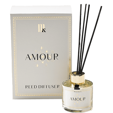 Reed Diffuser Amour- ME&MATS - Gift - Luxe - Personal message - Wrapped gift