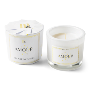 Wrapped scented candle - Amour ME&MATS