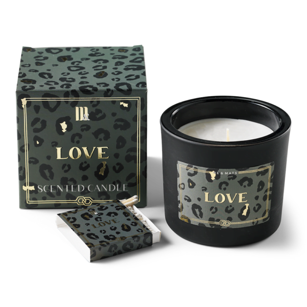 Luxury scented candle - Crazy Leopard ME&MATS