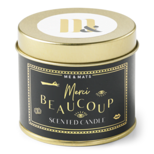 tin candle Me&Mats collection – merci beaucoup