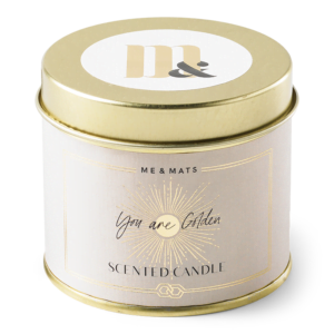 Tin candle - You are golden ME&MATS