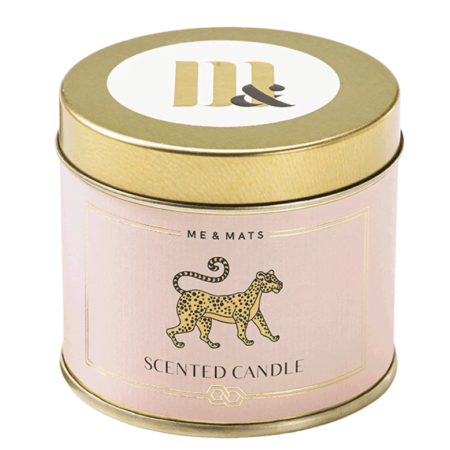 Tin Scented Candle You Tigra - ME&MATS - Gift - Luxe - Personal message - Wrapped gift