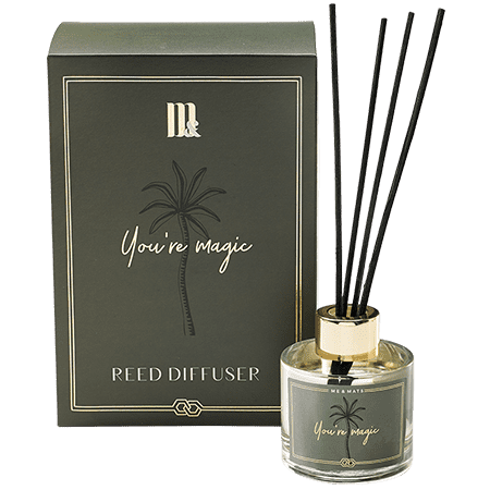 Reed Diffuser You're Magic- ME&MATS - Gift - Luxe - Personal message - Wrapped gift