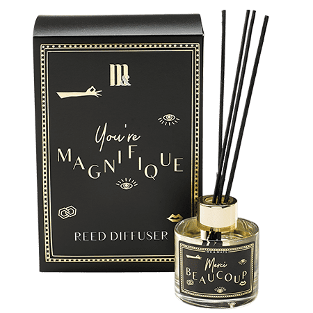 Reed Diffuser You're Magnifique- ME&MATS - Gift - Luxe - Personal message - Wrapped gift
