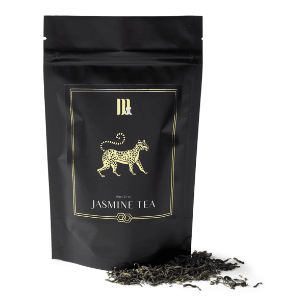 Tea Pouch Gold Tigra- ME&MATS - Gift - Luxe - Personal message - Wrapped gift
