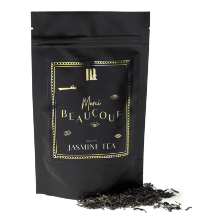 Tea Pouch Merci Beaucoup- ME&MATS - Gift - Luxe - Personal message - Wrapped gift