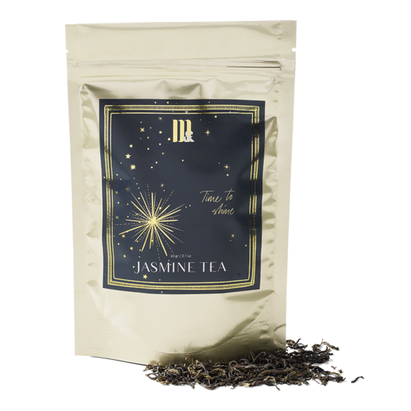 Tea Pouch Blue Stars - ME&MATS - Gift - Luxe - Personal message - Wrapped gift