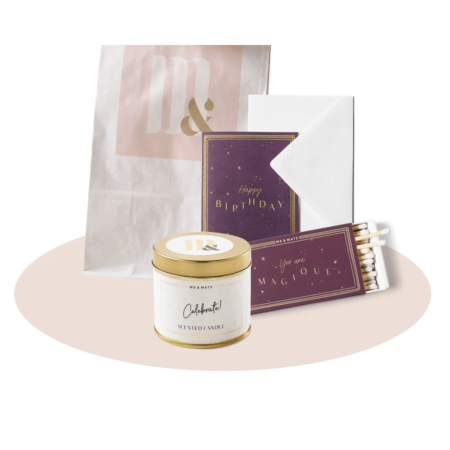 Giftset TINY Happy Birthday - ME&MATS - Gift - Luxe - Personal message - Wrapped gift