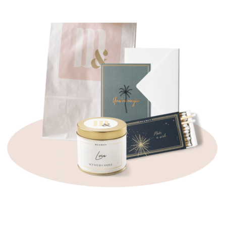 Giftset TINY thinking of you - ME&MATS - Gift - Luxe - Personal message - Wrapped gift