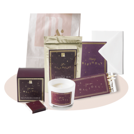 Giftset BIG happy birthday- ME&MATS - Gift - Luxe - Personal message - Wrapped gift