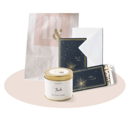 Giftset TINY thank you - ME&MATS - Gift - Luxe - Personal message - Wrapped gift