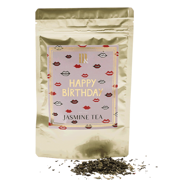 Tea Pouch Happy Birthday- ME&MATS - Gift - Luxe - Personal message - Wrapped gift