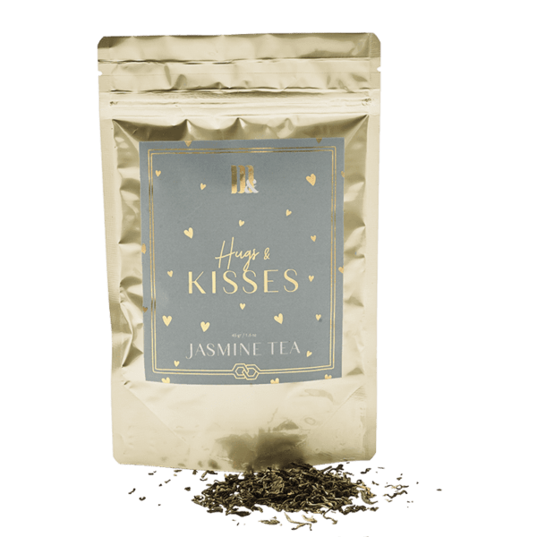 Tea Pouch Hugs and Kisses- ME&MATS - Gift - Luxe - Personal message - Wrapped gift