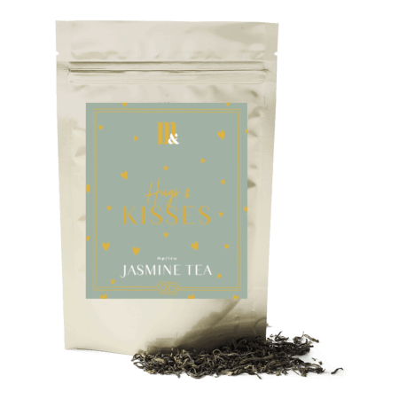 Tea Pouch Hugs and Kisses - ME&MATS - Gift - Luxe - Personal message - Wrapped gift