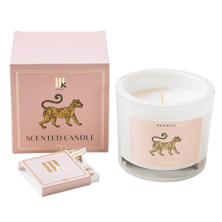 Luxury scented candle You Tigra - ME&MATS - Gift - Luxe - Personal message - Wrapped gift