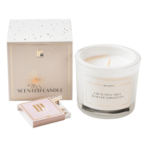 Luxury scented candle Soul- ME&MATS - Gift - Luxe - Personal message - Wrapped gift